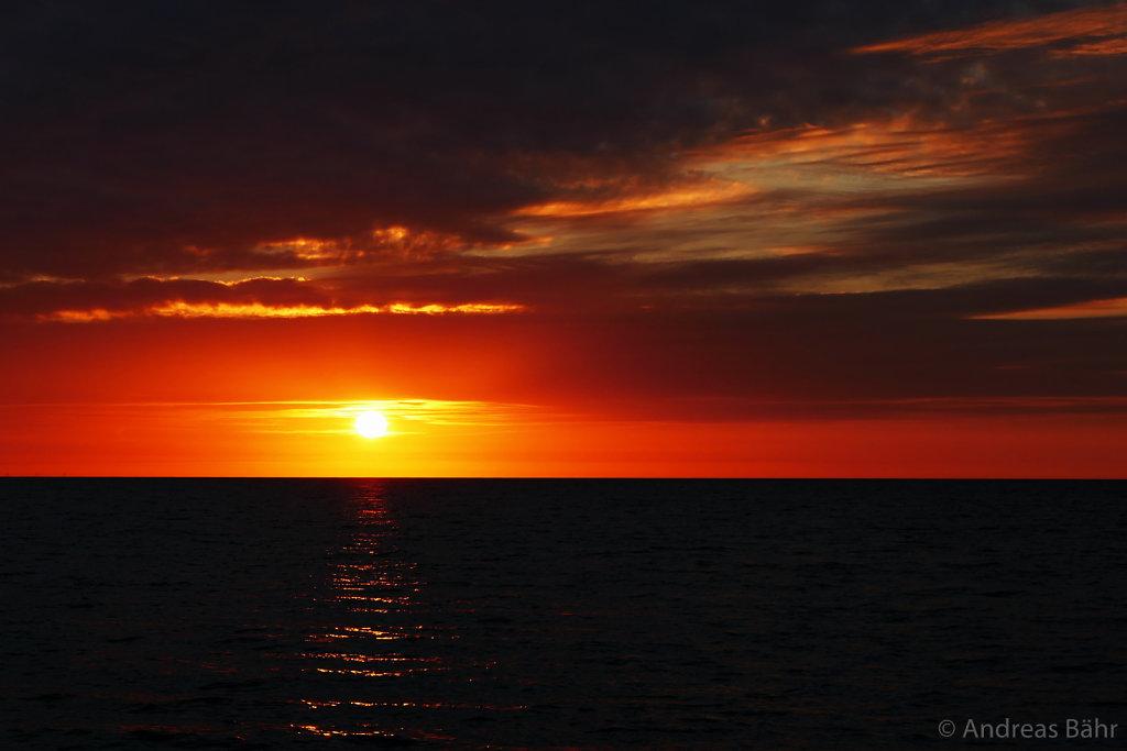 Sonnenaufgnag in Pommerby