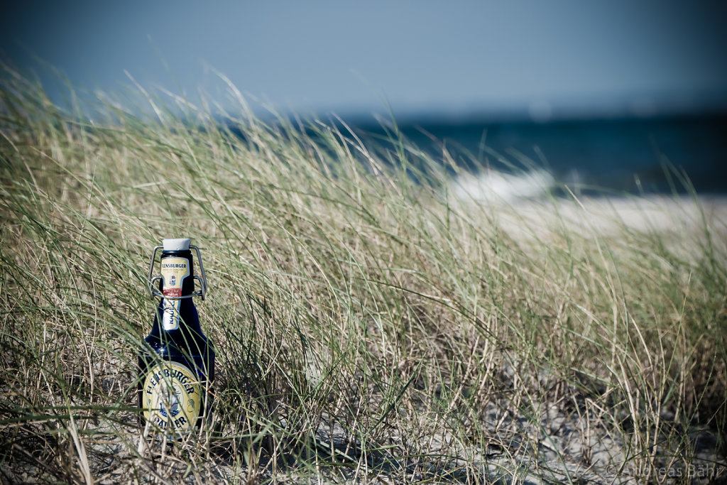 Am Strand bei Pommerby