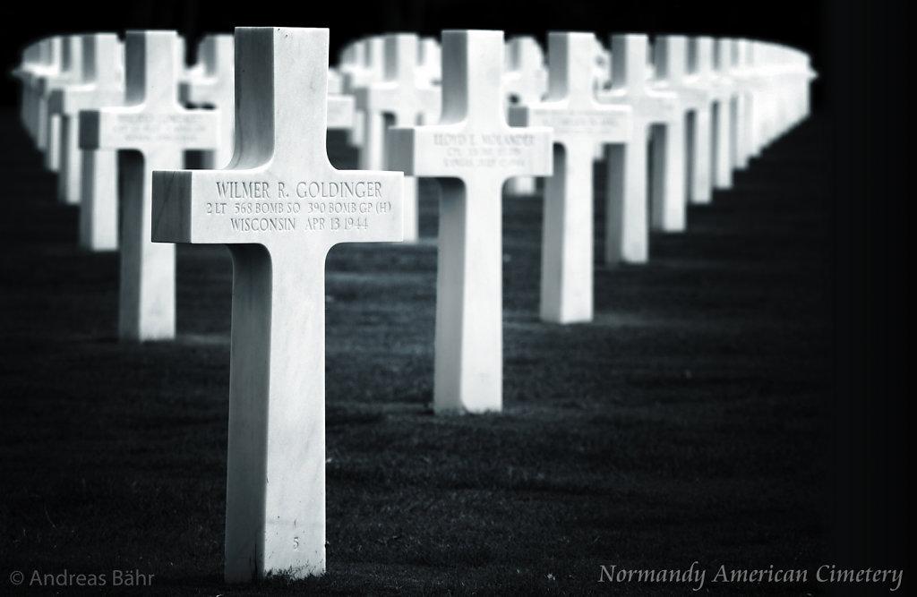Normandy American Cimetery - Colleville sur mer